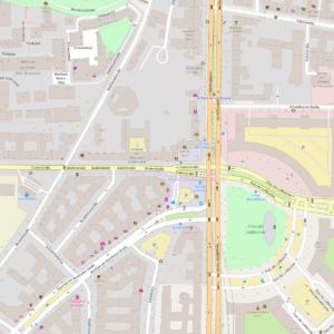 Map La Berlinoise OpenStreetmap