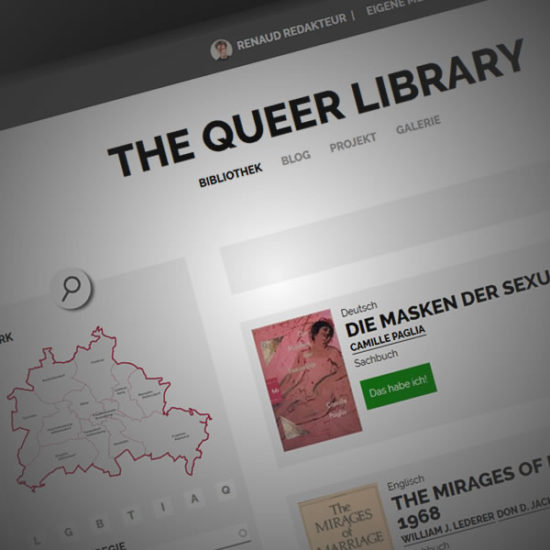 THE QUEER LIBRARY