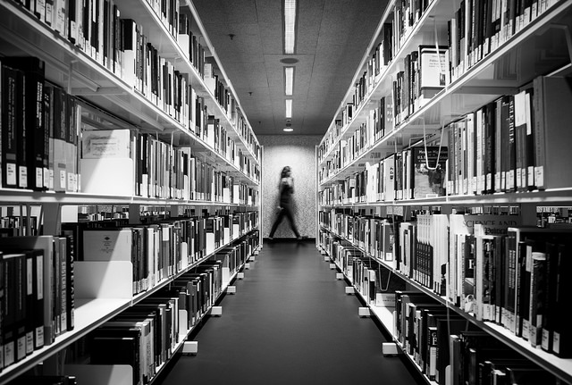 Thomas Leuthard / Library / https://flic.kr/p/v4dpQV / CC BY 2.0