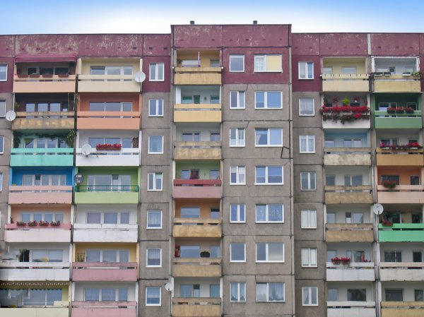 """apartment house in poland"" © Michael Richert / www.sxc.hu / RGBStock.com"