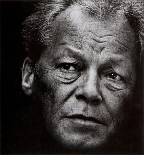 © Konrad Rufus Müller courtesy of PINTER & MILCH, Willy Brandt 1977
