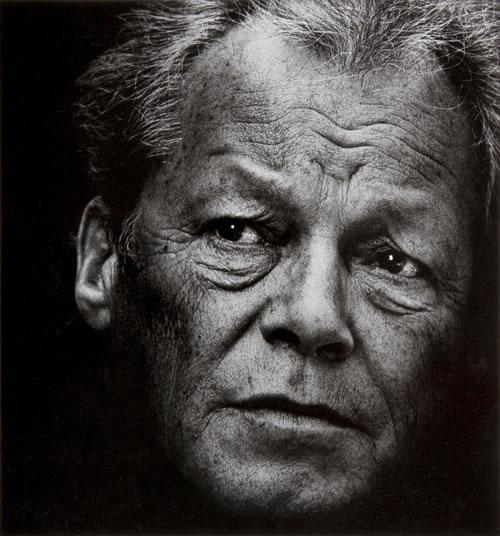 © Konrad Rufus Müller courtesy of PINTER & MILCH, Willy Brandt 1977